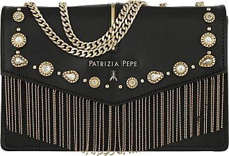 9dd4c012e8e Patrizia Pepe Chain Studs Crossbody Bag Nero Tasche zwart