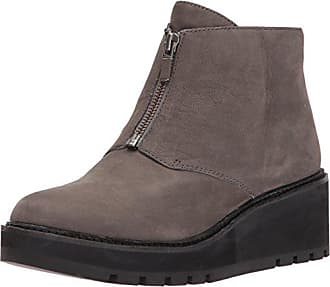 90e42584df6 Eileen Fisher Womens Casey Chukka Boot Graphite 8.5 M US