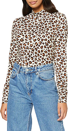 Vila Womens 14054491 Long Sleeve Top, Multicolour (Sandshell AOP: W. Animala), 14 (Size: Large)