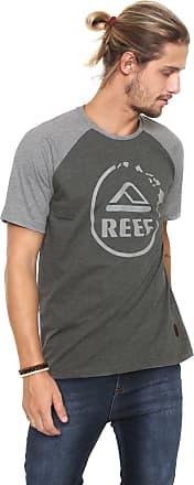 Reef Camiseta Reef Camo Gradient Cinza