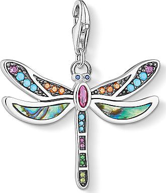 Thomas Sabo Thomas Sabo Charm pendant dragonfly multicoloured 1757-964-7