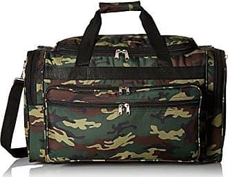 World Traveler 22 Inch Duffle Bag, Green Camo