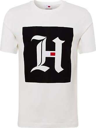 new product dd3a5 4776e Tommy Hilfiger T-Shirts für Herren in Weiß: 86 Produkte ...