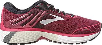 Brooks Adrenaline Gts 18, Womens Running Running Shoes, Pink (Pink/Black/White 1B619), 4.5 UK (37.5 EU)