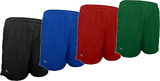 Elite Kit 4 shorts masculino Elite academia 38 ao 64 (Preto/Royal/Vermelho/Verde, EG2 (54/56))