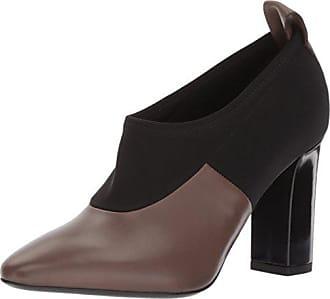 Via Spiga Womens Bayne Ankle Bootie, Bark Leather, 6.5 M US