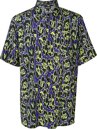 Just Cavalli Camisa com padronagem - Preto