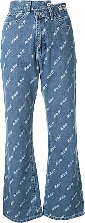 Ground-Zero Calça jeans bootcut destroyed - Azul
