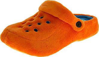 Footwear Studio Defonseca Womens Sabotto Orange Slingback Clog Mule Slippers 3 UK (35-36 EUR)