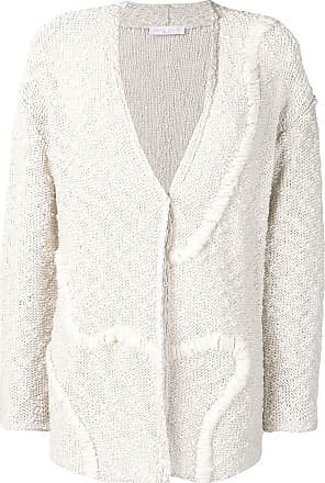 Fabiana Filippi textured cardigan - White