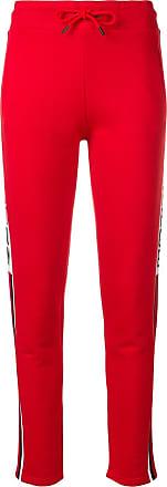 Quantum Courage Calça esportiva com listra lateral - Vermelho
