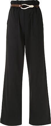 Framed Calça pantalona Linen - Preto
