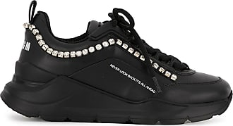 Msgm College Hiking sneakers - Black