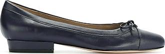 Sarah Chofakian round toe ballerinas - Di colore blu
