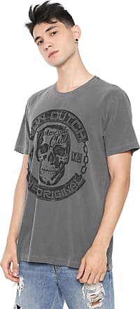 Von Dutch Camiseta Von Dutch Motocycle Club Grafite