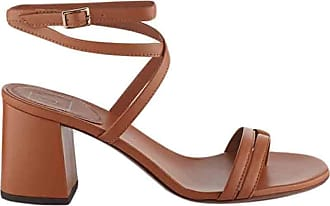 L'autre Chose Fashion Woman 20042004 Brown Leather Sandals | Spring Summer 20