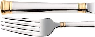 Lenox Eternal Gold 20-Piece Stainless Steel Flatware Set, Service for 4