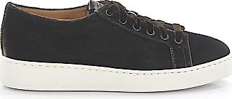 Santoni Sneakers 60248 velvet brown