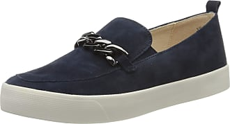 Caprice Womens Ivy Loafers, Blue (Ocean Suede 857), 7.5 UK