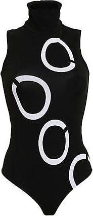 Wolford Wolford Woman Hiroko Jacquard-knit Turtleneck Bodysuit Black Size XS