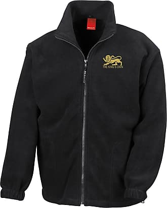Military Online The Kings Own Royal Regiment Embroidered Logo - Official British Army Full Zip Heavyweight Fleece Jacket
