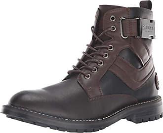 361e42bf5254 Guess Mens Rebel Combat Boot Brown 8.5 M US