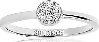 Sif Jakobs Jewellery Ring Cecina with white zirconia
