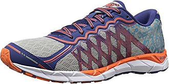 361° Mens KGM2-M Running Shoe, Blue/Silver/Orange, 8.5 M US
