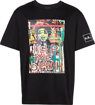 Haculla Help Me printed T-shirt - Black