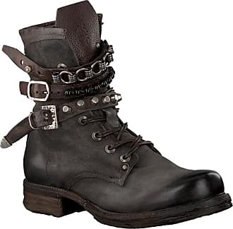 A.S.98 Taupe A.S.98 Biker Boots 520278 201 0001 SOLE SAINT 14 3f83357f67