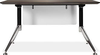 Unique Furniture 300 Collection 55 in. Computer Desk - Espresso - 300-ESP