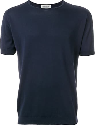 John Smedley Camiseta mangas curtas - Azul