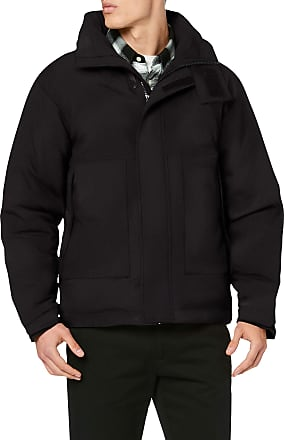 Urban Classics Mens Multipocket Winter Jacket, Black (Black 00007), X-Large