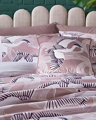 Ted Baker Flighter Mink Feather Cushion in Dusky Pink FLIHTT, Home