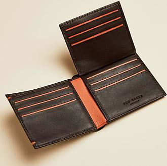 Ted Baker Dreifach Faltbares Portemonnaie Aus Leder