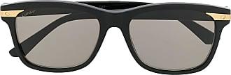 Cartier Óculos de sol Santos de Cartier - Preto
