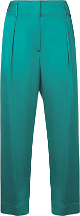 Forte_Forte cropped straight-leg trousers - Azul