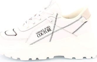 Versace shoes woman low sneakers E0VVBSC1 71365 003 size 39 White