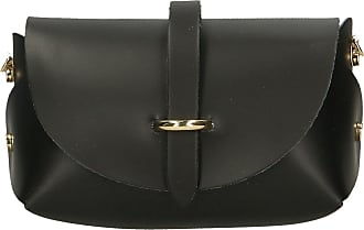 Chicca Borse Aren - Womans crossbody shoulder small bag in genuine leather Made in italy - 18x11x9 Cm
