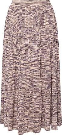 Ulla Johnson Marlie Skirt With Lurex Trim Womens Purple