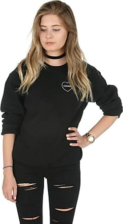 Sanfran Clothing Sanfran - Yoongi Pocket Fashion Kpop Fangirl Kpop Heart Jumper Sweater - Medium/Black