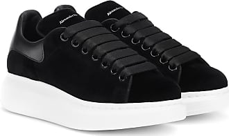Alexander McQueen Velvet sneakers