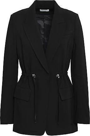 A.L.C. A.l.c. Woman Collins Gathered Cady Blazer Black Size 10