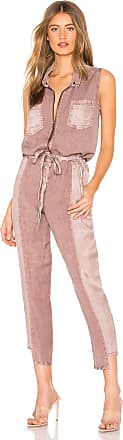 Young Fabulous & Broke Linette Jumpsuit in Mauve