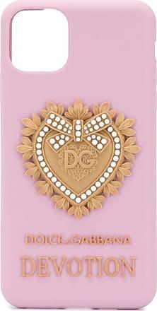 Dolce & Gabbana silicone iPhone 11 pro case - Rosa