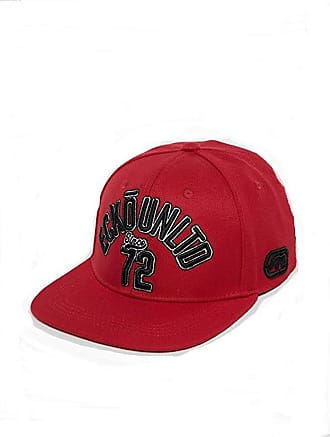 Ecko Mens Baseball Cap Red red One Size