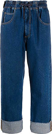 Opening Ceremony cropped boyfriend-fit jeans - Blue