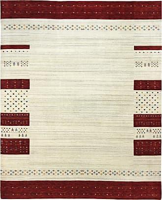 Nain Trading 349x243 Tappeto Loom Gabbeh Lori Marrone Scuro/Viola (India, Il lavoro manuale, Lana)
