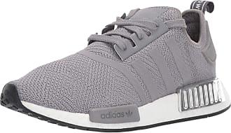 adidas Originals womens Nmd_r1 running shoes, Grey Three/Grey Three/Silver Met., 5 US