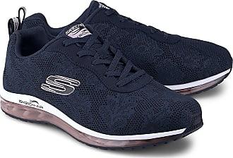 Skechers Damen EmpressSplendid Sneaker Blau Navy